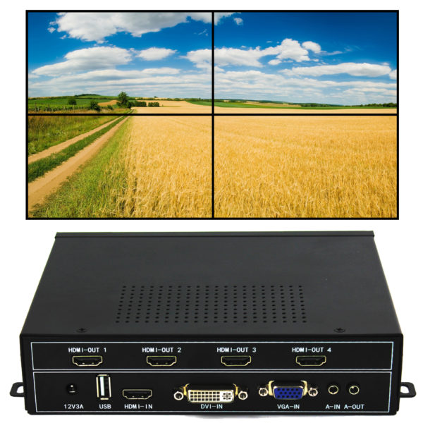 Video Wall Controller 2X2