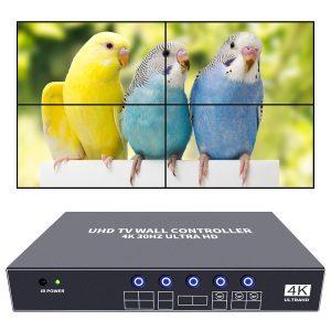 iseevy 4k video wall controller 2x2 uhd tv wall processor 2x2