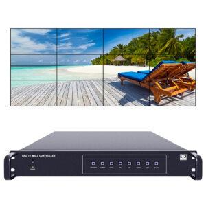 4K60 UHD Video wall controller 3x4 4x3