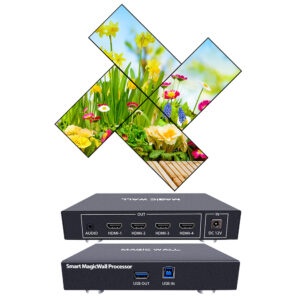 Magic wall processor iseevy smart magic video wall processor